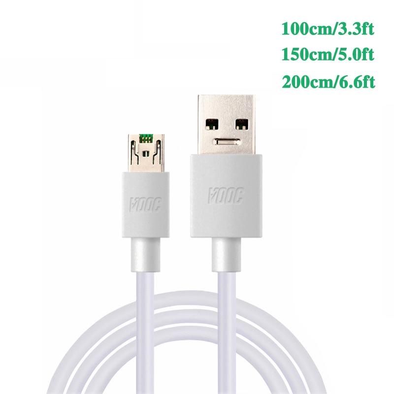 3.3ft 4A charger cable For oppo R7S R7 R7T R7 R9 R9s Plus Find 7 N3 U3 F1 F3 Plus Neo7 F11 Pro Mobile phone VOOC charger cable-in Mobile Phone Chargers from Cellphones & Telecommunications