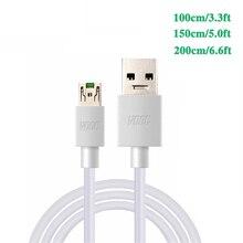 3.3ft 4A充電ケーブルoppo R7S R7 R7T R7 R9 R9sプラス7見つけるN3 U3 F1 F3プラスneo7 F11プロ携帯電話vooc充電ケーブル