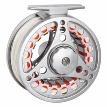 Angler Dream 1/2 3/4 5/6 7/8WT Fly Reel and Line Combo Large Arbor Aluminum Fly Fishing Reel Weight Forward Floating Fly Line