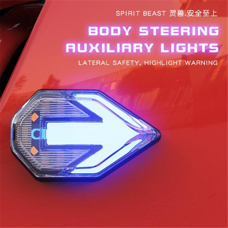 SPIRIT BEAST CB190 Motorcycles Highlight Warning Lights 12V Waterproof Lights Motocross LED Lights Modified Styling Accessories in Motorcycle Switches from Automobiles Motorcycles