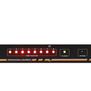 Image 5 - Toma de corriente profesional de 8/10 vías, con lentejuelas, pantalla de voltaje, interruptor independiente, SR 310