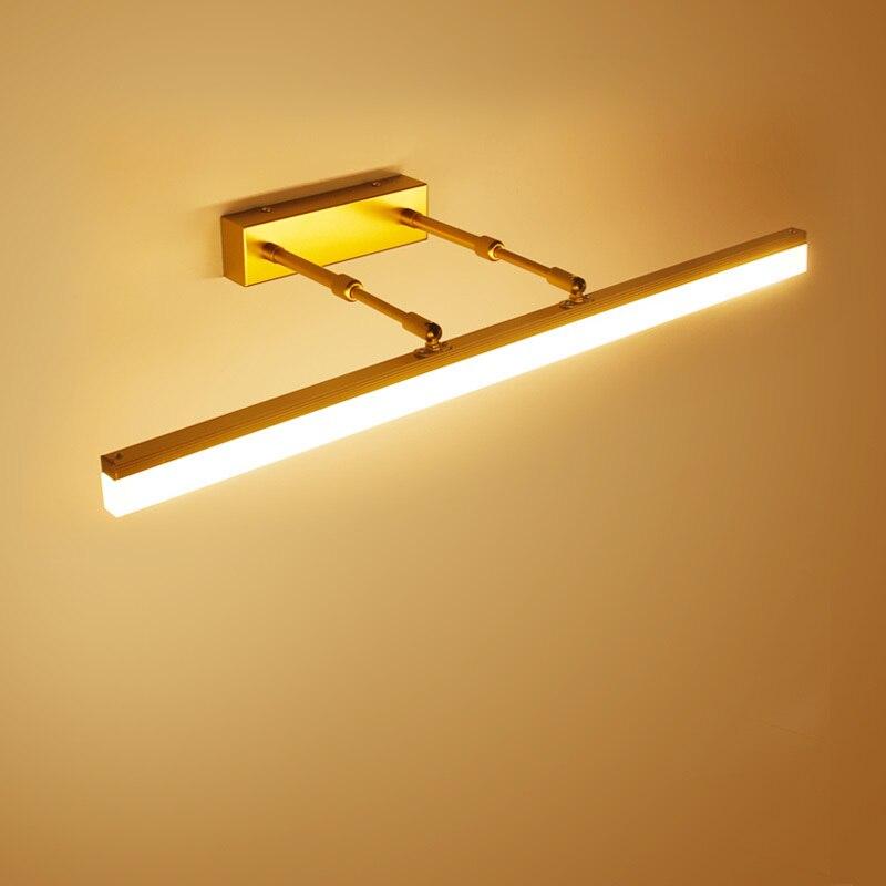 Modern LED Mirror Wall Light Bathroom Lighting Fixture Adjustable Home Bedroom Decor Makeup Lamp Wandlamp Apliques De Pared