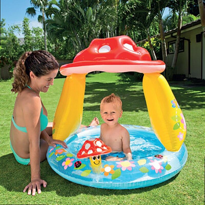 Gonflable bébé piscine enfants jeux pvc dessin animé été plage bébé piscine gonflable piscine pour bébé enfant enfants
