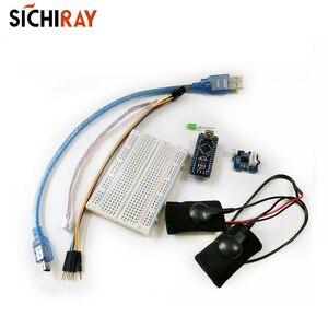 Гальванический датчик отклика кожи (GSR-potenth) Набор для Arduino измеримый датчик проводимости сопротивления кожи