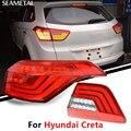 Para Hyundai IX25 Creta 2015 2016 2017 Luzes Da Cauda Sinais de Volta Do Carro Externo Freio Reverso Kit Lâmpada Auto Acessórios Do Carro-styling