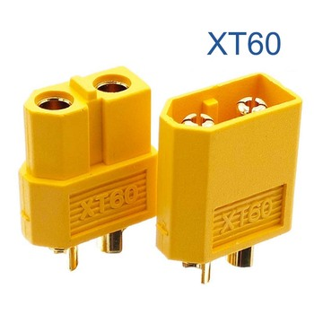 10 sztuk 5 par XT60 XT-60 mężczyzna kobieta wtyczki złącza pociskowe dla akumulator do rc lipo tanie i dobre opinie BLUSUNSOLAR yellow as picture PCB Lighting Adapter Female and male