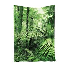 TaTropical Rain Forest Green Tapestry,Palm Trees And Exotic Plants in Jungle with Wild Nature Zen Theme Art Decor(100*150cm)
