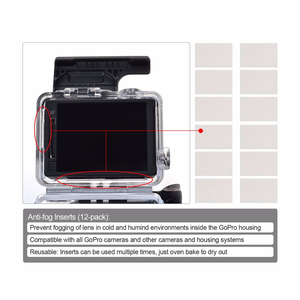 Image 5 - Action Camera Accessories For GoPro Hero 7 6 5 Waterproof Case Travel Screen Protector Lens Filter Silicone Protective Case Bag