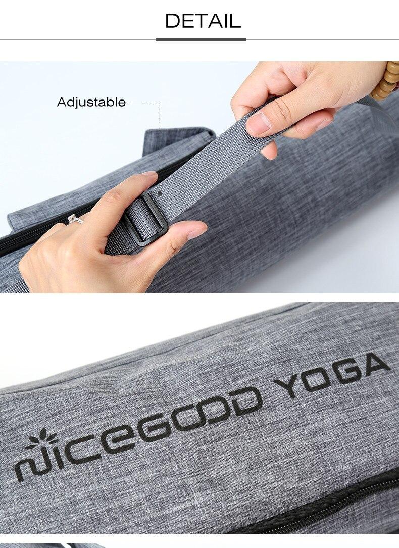 Saco de yoga duplo zíper à prova
