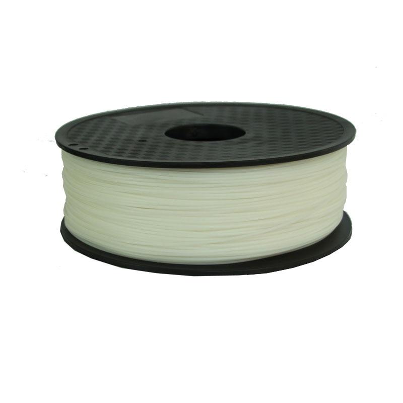 Filamento solúvel em água do pva de 0.5kg 1.75mm para os punhos plásticos das impressoras 3d para o filamento 1.75mm 1kg sono do pla da impressora 3d