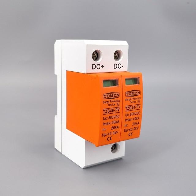 جهاز منع تسرب التيار المستمر SPD DC 800V 20KA ~ 40KA