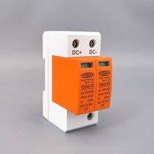 Spd Dc 800V 20KA ~ 40KA Casa di Protezione Contro Le Sovratensioni Dispositivo di Protezione a Bassa Tensione Scaricatore