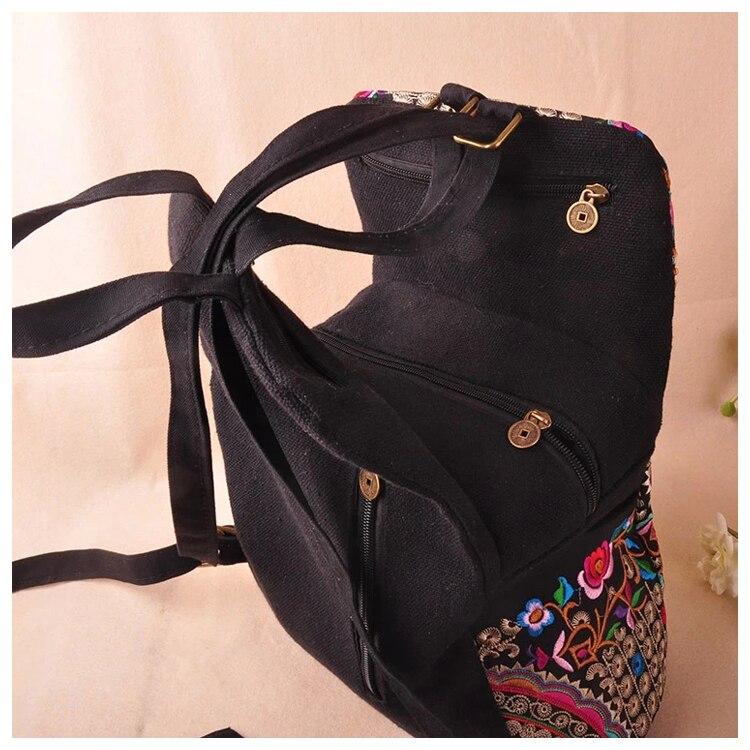 bordado saco de viagem sacos mochilas mochila