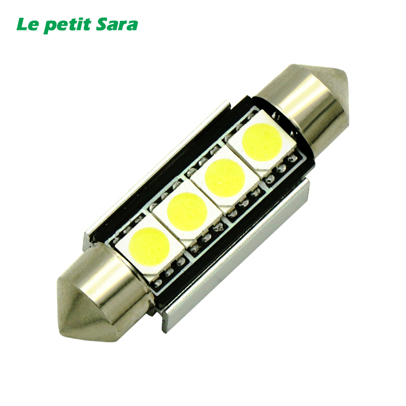 31mm 36mm 39mm 41mm C5W C10W CANBUS NO Error Auto Festoon Light 8 SMD 5050 LED Car Interior Dome Lamp Reading Bulb White DC 12V high quality 31mm 36mm 39mm 42mm c5w c10w super bright 3030smd car led festoon light canbus error free interior doom lamp bulb