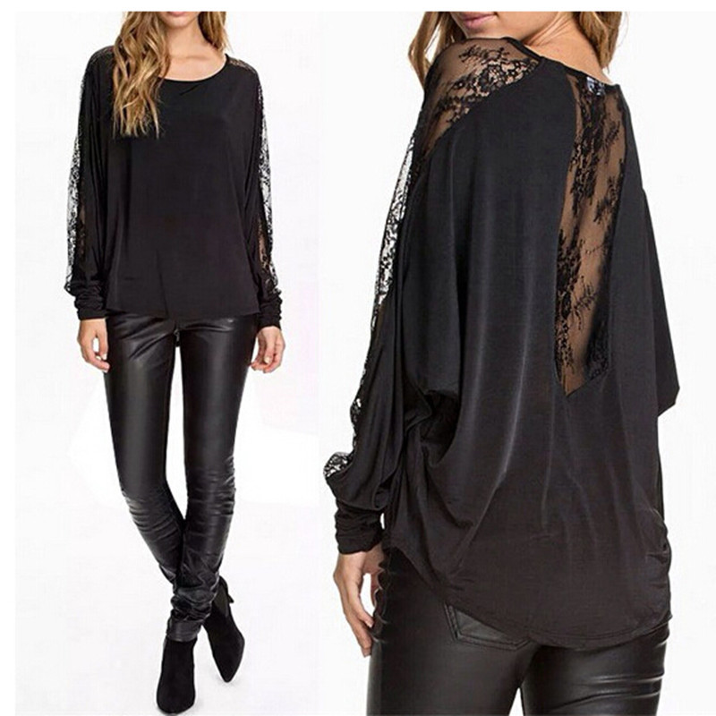 Popular Long Blouse Black-Buy Cheap Long Blouse Black lots from ...