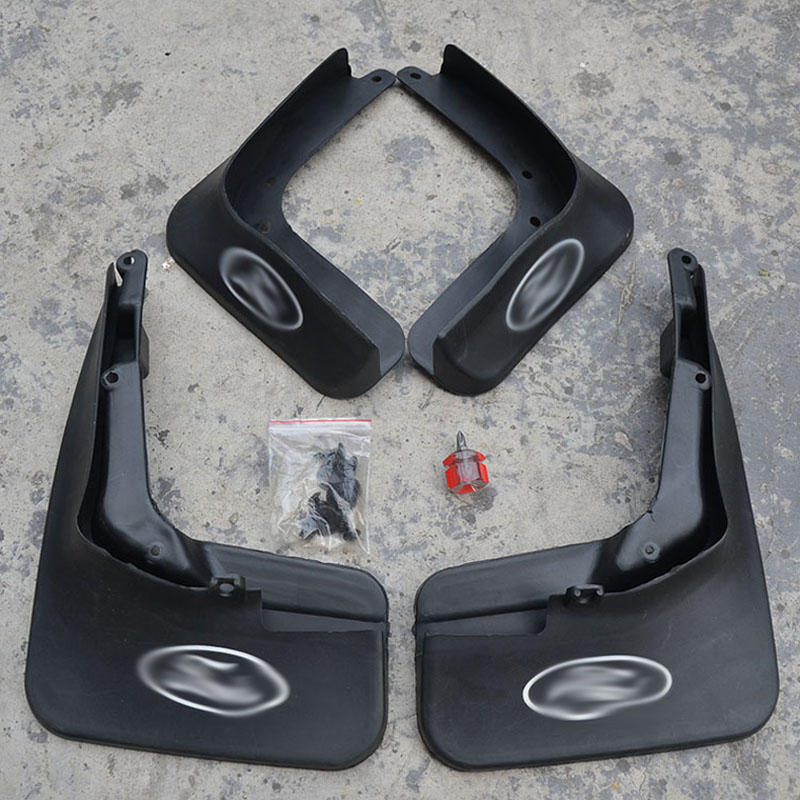 Free Shipping High Quality ABS Plastics Automobile Fender Mudguards Mud Flaps For 2013-2014 Ford Mondeo