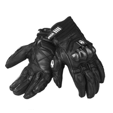 New Brand Genuine Leather Waterproof Motorcycle Gloves Outdoors Motocross Racing Gloves Motorbike Cycling Driving Gloves M-2XL