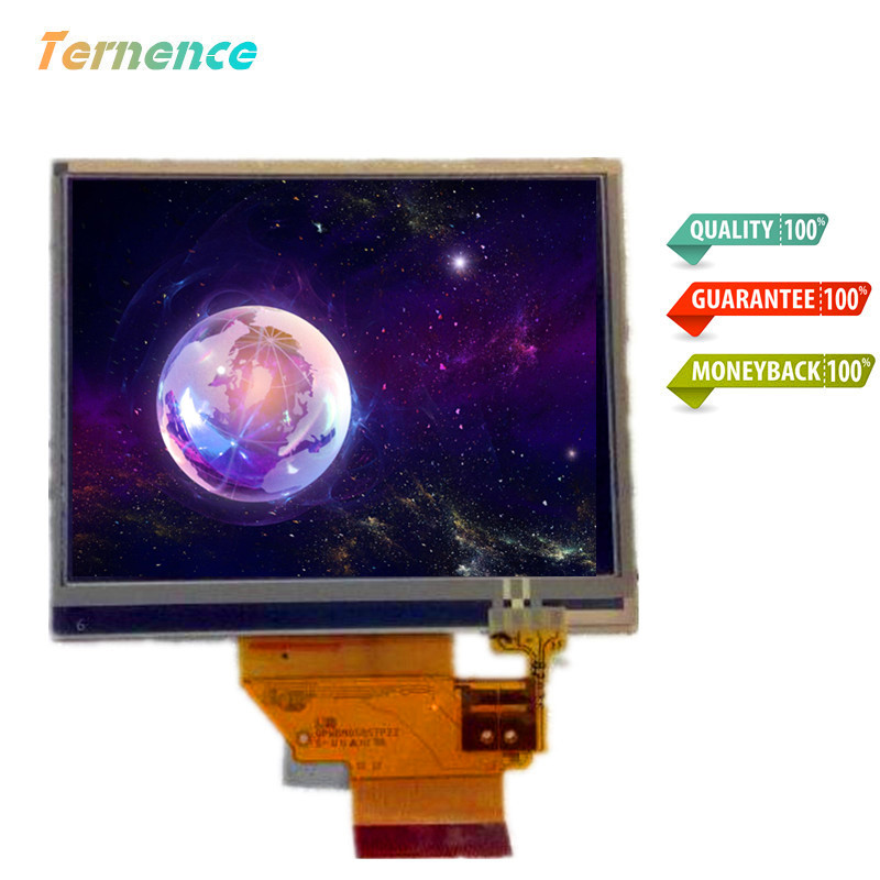 3.5''inch Complete display LQ035Q1DH02 LCD touch screen for Garmin nuvi 255T 260 275 1200 500 510 215 Display Touch Screen(China)
