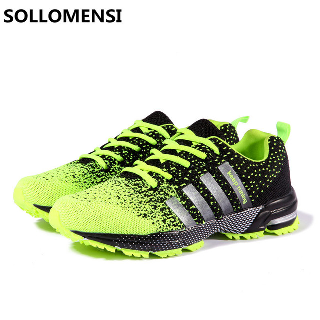 2017 Lovers running shoes for men style jogging outdoors adults comfortable light weight sneakers women male athletic breathable