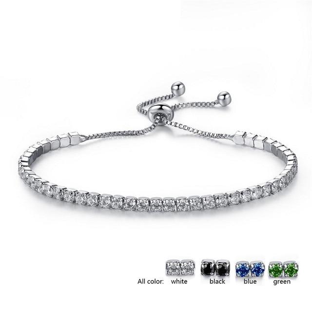 brixini.com - Classic Shiny Crystal Tennis Bracelets