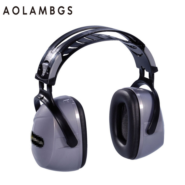 Защитные наушники 103009 профессиональный уровень шума звукоизолированные гарнитура высокое качество шумоподавления исследование сна наушники защиты SNR33dB