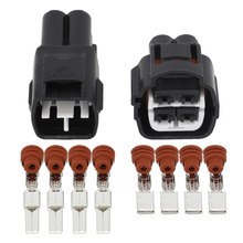 4 pin Automotive Connectors Waterproof Connector Terminal Block Plug Male to Female With Terminal DJ7041YB-4.8-11 / 21 4P