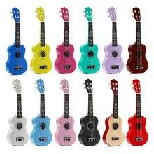 SENRHY 21″ Soprano Ukulele Basswood Acoustic Nylon 4 Strings Ukulele Colorful Mini Guitar Musical Instrument For Children Gift