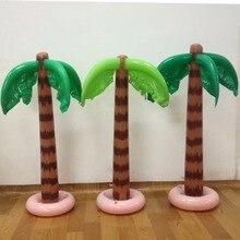90 см надувные тропические пальмы бассейн украшения для пляжной вечеринки игрушки на открытом воздухе