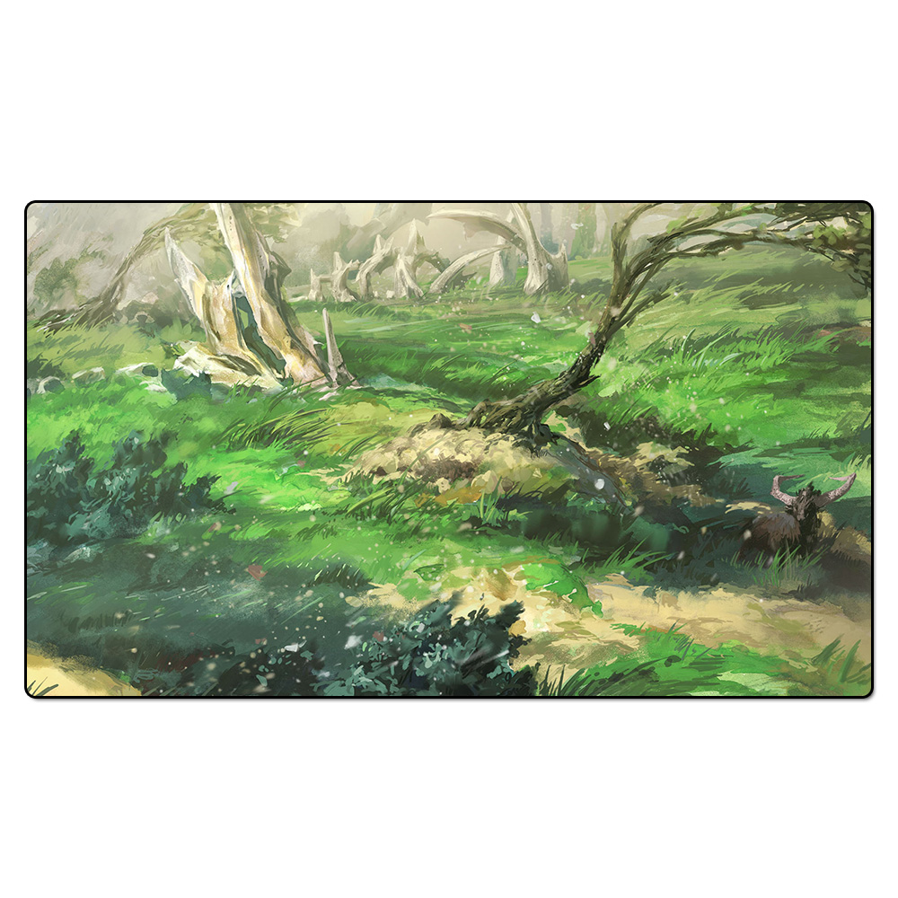 (Windswept Heath) Board Games Playmats, Magical Card The Games Gathering Play Mat, Custom Design Playmat with Free Gift Bag board games