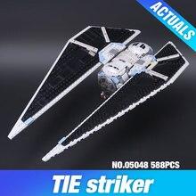 Nouveau 543 Pcs Lepin 05048 Star War Seiers La CRAVATE Attaquant Blocs de Construction Briques Jouets Compatible avec 75154