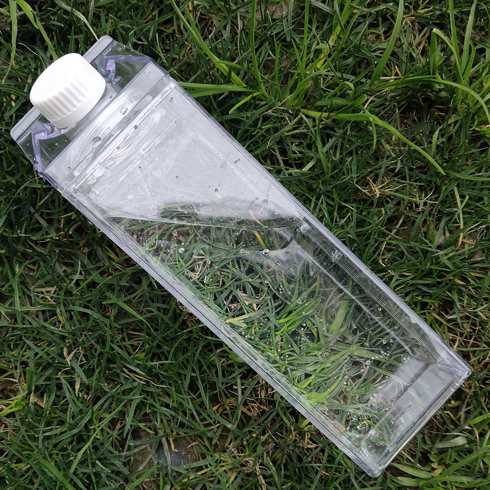 Kitchen Leakproof Creative Transparent Milk Water Bottle Drinkware Outdoor Climbing Tour Camping Children Men Milk Water Bottles