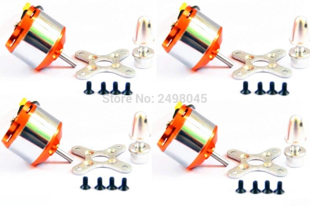 4pcs Lot XXD A2212 930KV 1000KV 1400KV 2200KV Brushless Motors holders for font b RC b