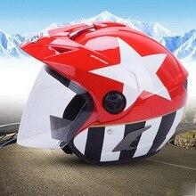 YOHE Пол-Лица мотоциклетный шлем электрический велосипед мотоцикл шлемы, изготовленные из ABS YH-887A есть 10 видов цвет размер Ml XL XXL