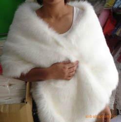 Сезон Зима 2016 Кожа трава Лисий мех норки кроличий мех пончо накидка невесты торжественное платье шаль мыс Женщины жилет меховое пальто V002