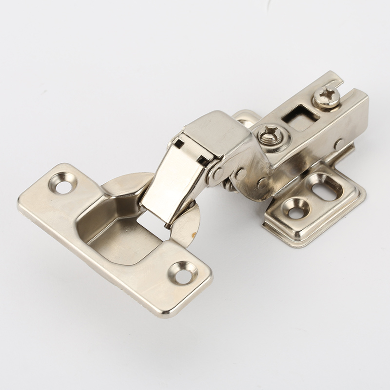 Embed Hinge Stainless Steel Door Hydraulic Satin Nickel Hinges Buffer Soft Close For Cabinet Furniture Hardware stainless steel door hinges hydraulic buffer automatic closing door spring hinge 125 78mm furniture cabinet drawer hardware