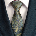 Fashion Mens Accessories Flower Polyester Silk Tie for Men Brand Neckwear Business Wedding  Skinny Grooms Necktie for Suit Shirt