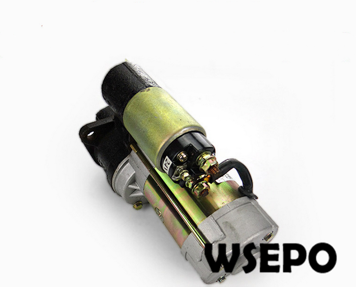 OEM Quality! Electric Start Motor for S1110/S1115 4 Stroke Small Water Cooled Diesel Engine oem quality camshaft for ct1125 4 stroke single cylinder small water cooled diesel engine