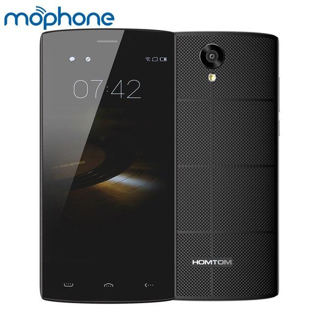 """Оригинальный Doogee HOMTOM HT7 3 г Android 5.1 смартфон 4 ядра MT6580A 5.5 """"IPS 1 ГБ + 8 ГБ 8MP 3000 мАч долгого ожидания мобильного телефона"""