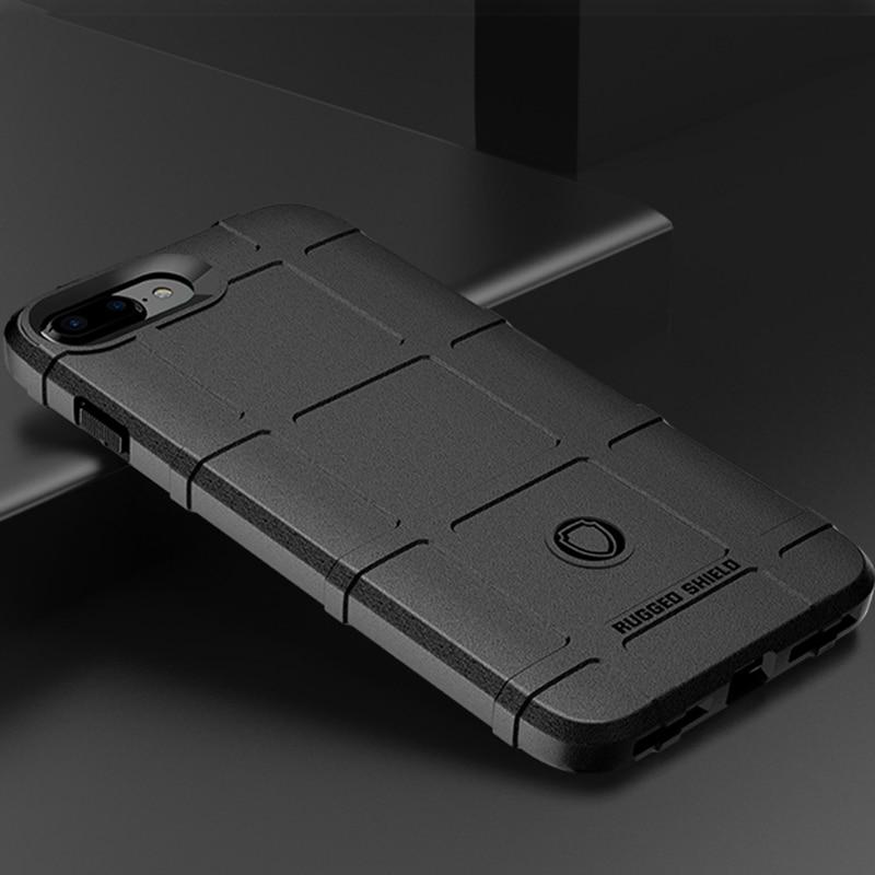 Para coque iphone x xs max xr 10 caso silicone caso de telefone celular para o iphone 6 s 7 8 mais caso armadura áspera à prova de choque dous capa