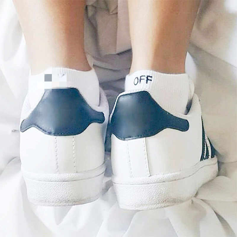 Cotton Solid Letters Short Ankle Socks F Off Comfortable Breathable Sweat absorption Casual Pattern Men Socks Hot sale