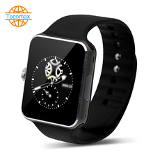 "NFC Bluetooth Smart Uhr 1,54 ""display für IOS/Android Telefon Mann frau Tragbare smartWatch sport armbanduhr anti-verloren"