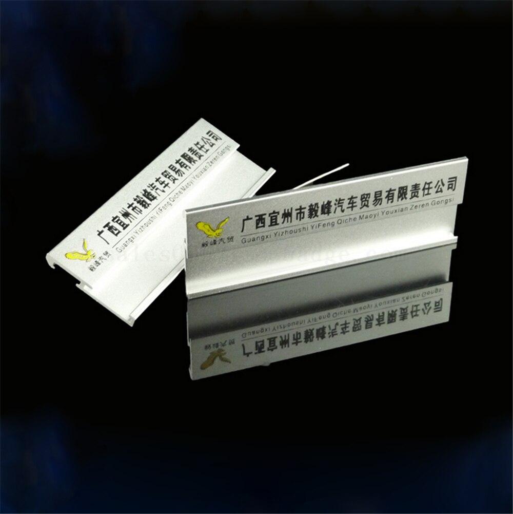 40 ชิ้น/ล็อต 70*25 มม. ขายส่งเงินโลหะความปลอดภัย pin badge ความงามชื่อ: ใส่หน้าต่างชื่อหมวดหมู่จัดส่งฟรี-ใน ที่ใส่ป้ายและอุปกรณ์เสริม จาก อุปกรณ์ออฟฟิศและการเรียน บน   1