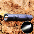 Convoy S2+ Cree XM-L2 U2-1A 350lm 2-Group 8-Mode Light LED Flashlight Self Defense,Lamp,Titanium by 1 x 18650 Battery