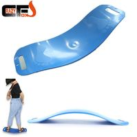 New ABS balance yoga board fit board Fitness twisted back plate