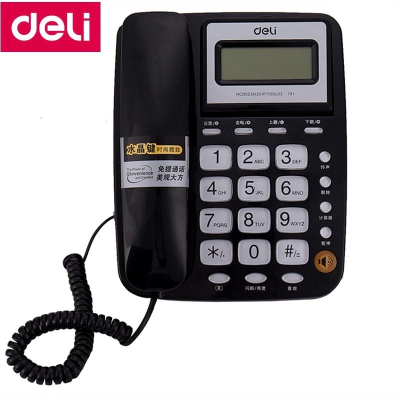 Telefones deli 781 assento tipo de Fiação : com Fio