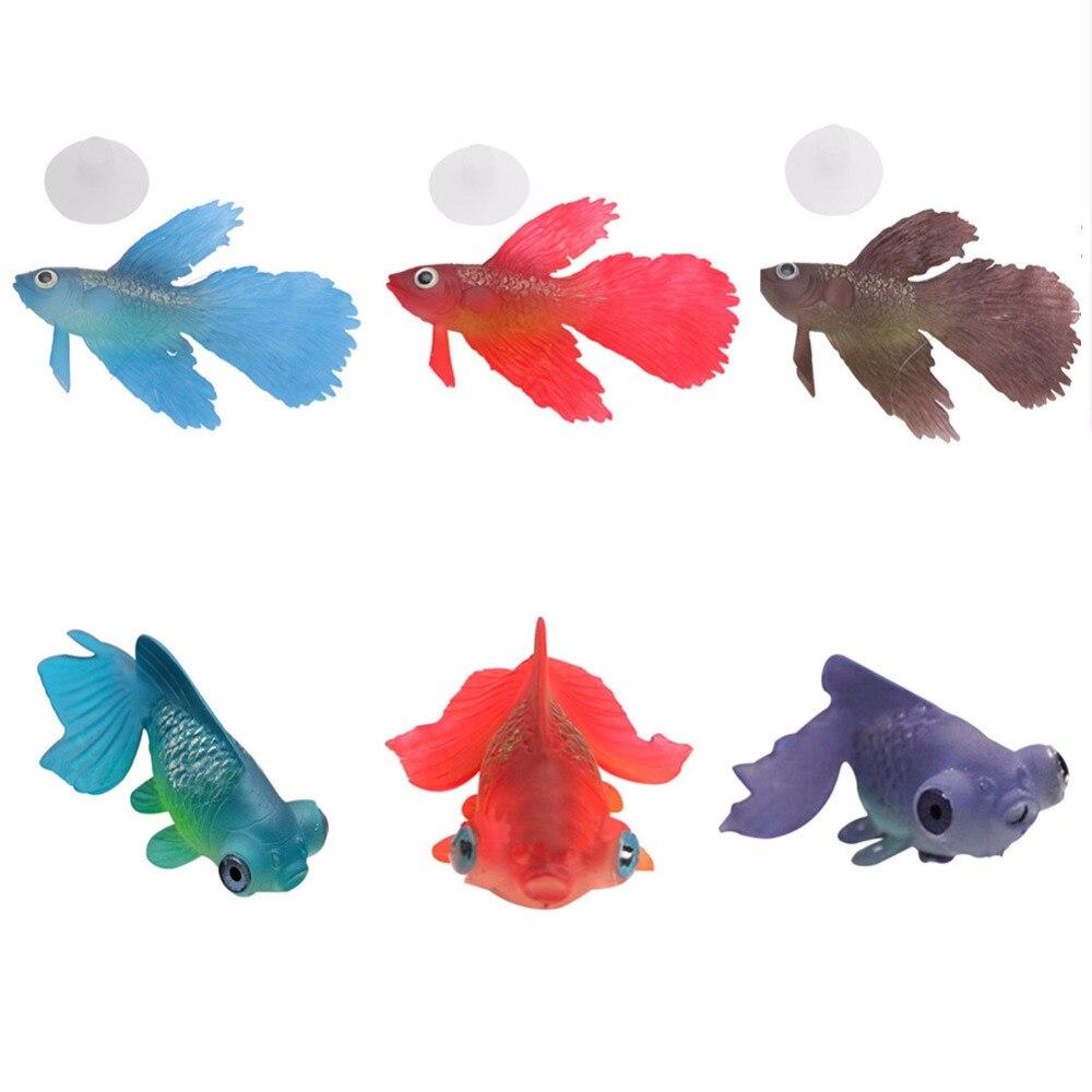 Funny Artificial Silicone Swim Robofish Toy Fish Robotic Pet Fishing Tank Decoration Aquarium Decoration Aquarium Accessories