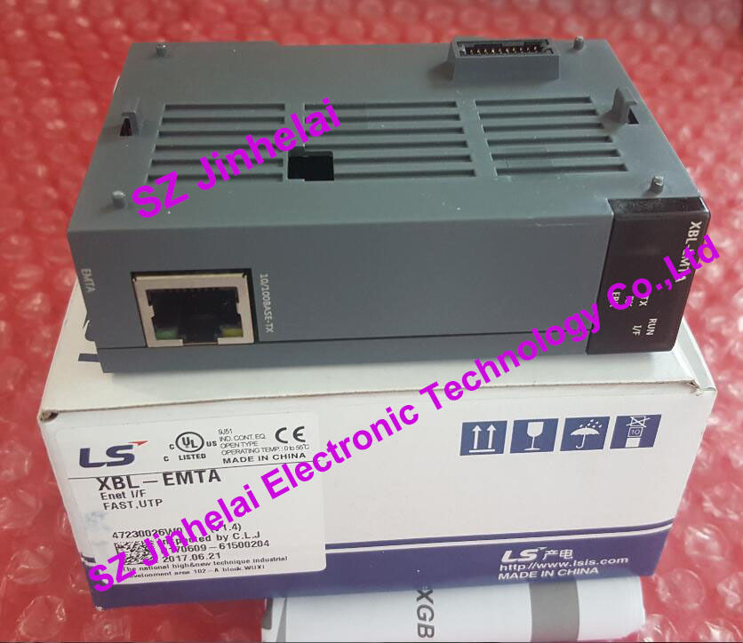 100% New and original  XBL-EMTA   LS(LG)   Ethernet PLC Communication module freeship original simatic s7 1200 plc communication module 6es7241 1ah32 0xb0 cm1241 rs232 6es7 241 1ah32 0xb0 6es72411ah320xb0