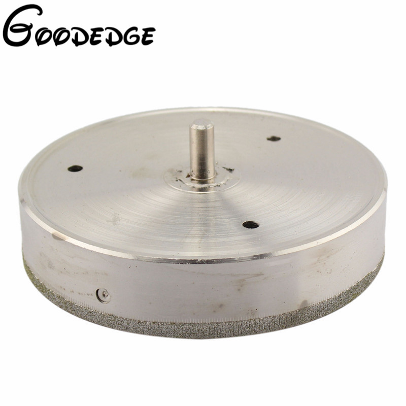 170mm Diamond Core Drill Bit Hole Saw Cutter Coated Masonry Drilling for Glass Tile Ceramic Stone Marble Granite 70mm diamond coated drill bit set kit hole saw holesaw glass granite tile cutter holer cutting tool for glass ceramic marble