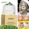 Hot peeling limpieza facial mung bean barro máscara de tratamiento del acné de la espinilla removedor de poro contractivo cremas de cuidado de blanqueamiento hidratante