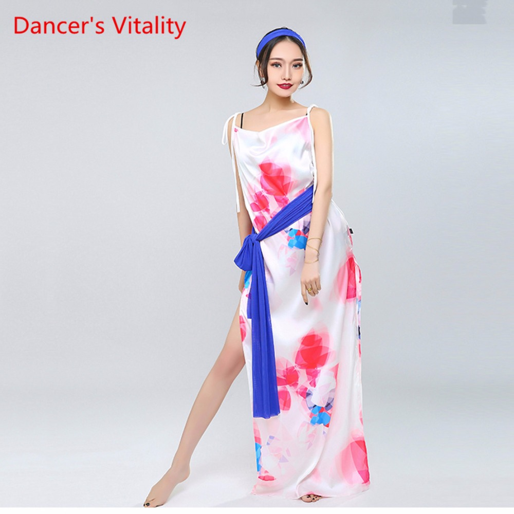 Stage & Dance Wear Hmong Clothes Disfraces Big Swing Handmade Flower Female Costume Banquet Group Dancce Modern Dance Stage Performance Clothes Elegant Shape Chinese Folk Dance